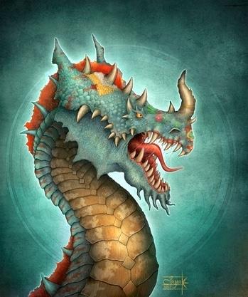 Dragon work for RPG game...2015 #illustration #illustrator #digitalart #conceptart #dragonart #illustrations #fantasyart  #aishwaaryanant #characterdesign #freelancer #indianfreelancer #indianfreelancer #dragons