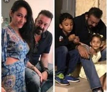 #sanjayduttandhisfamily #lovelypic