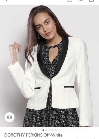 White blazer ...... always looks perfect