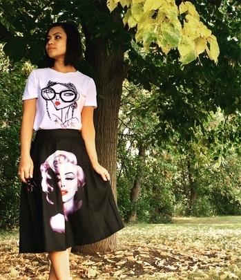 #blogger #delhibloggercommunity #delhifashion#fashion#usa #printdress
