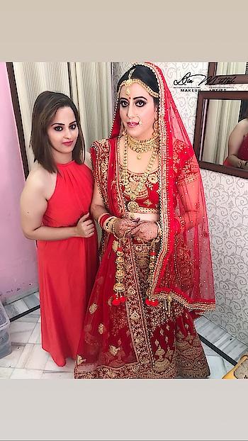 My lovely Bride Renu #bridal #look #makeup #beautiful  #stunning #marvellous #nofilter  #makeupbydiamittal #mua #makeupartist #indianbride #indianbridalmakeupartist #bridesof2018 #wedmegood #shadesofweddings #bridalmakeup #weddingmakeup #theweddingchamber #diamittalmakeupartist #thebridesofindia #thebridesmakeover #diamittal #diamittalmakeovers @diamittalmakeovers