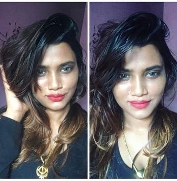 #sundayfunday #messylook #nomakeup-makeuplook #black #boringday #roposo-makeupandfashiondiaries