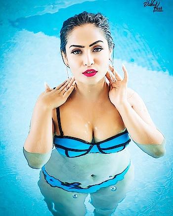 I wanna bath with you in the sea 🌊 . . .  Thank you for the beautiful shot @vishalpaul.me 👌🏻💙❤️🌊 . .  Make up by @tnya.sharma . . #bikinigirl #bikinimodel #hotgirl#hotbabes😍#höt #girl#bold #boldandbeautiful #seductive #sexy#moves#bikini #photoshoot#ootd#editorial #magazinecover#covergirl#model#actor#blue#pool#expression #killer#eyes #sensuality #seductress #beauty #beachbody