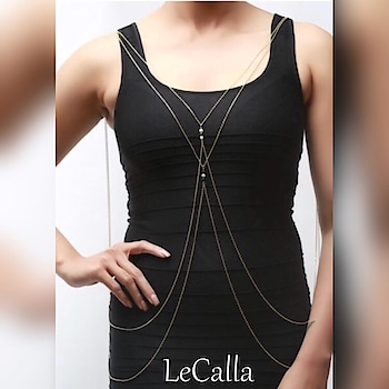 This one is your go to adornment, explore all body chain designs: https://goo.gl/92xaAF  #LeCalla #BodyChain #cocktailparty #cardparty #diwalijewellery #getdiscount #ootd #diwali #taashparty #silverchair #dailylook #instajewellery #womenfashion #bodychain #trending #trendyjewelry #instagood #roposo #roposolove #unique #fashion #girlsfashion #exclusive #sterlingsilver #designerjewellery