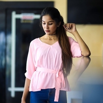 @shiwangivijaywargiya looking super chic in our bow top #SummerSpring #NewArrivals #NewStyles #NewCollection #InstaFashion #BeFab #Ootd #LookOfTheDay #RapraDaily #RapraStyleFile #ShopTheLook #FashionFinds #BeStylish #WardrobeStaples #ShopRapra