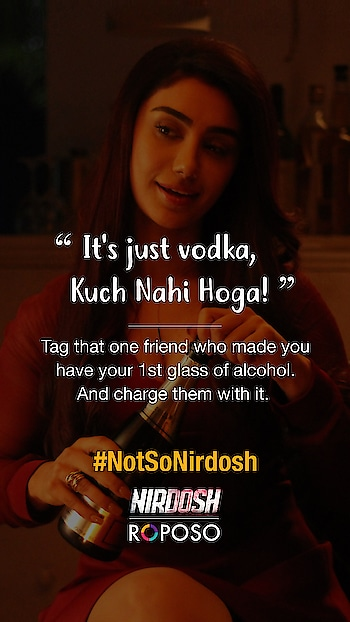 We are coming up with a new contest with @nirdoshthemovie : #NotSoNirdosh. Tag all your friends who did these to you & stay tuned to #Roposo for more updates!  #ContestAlert