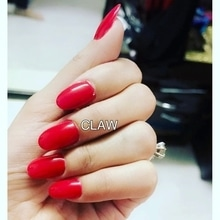 Love for red ❤️#clientdiaries #happyclient #happyus #claw #nails #nailspa #delhi #mumbai #getclawed💅💅