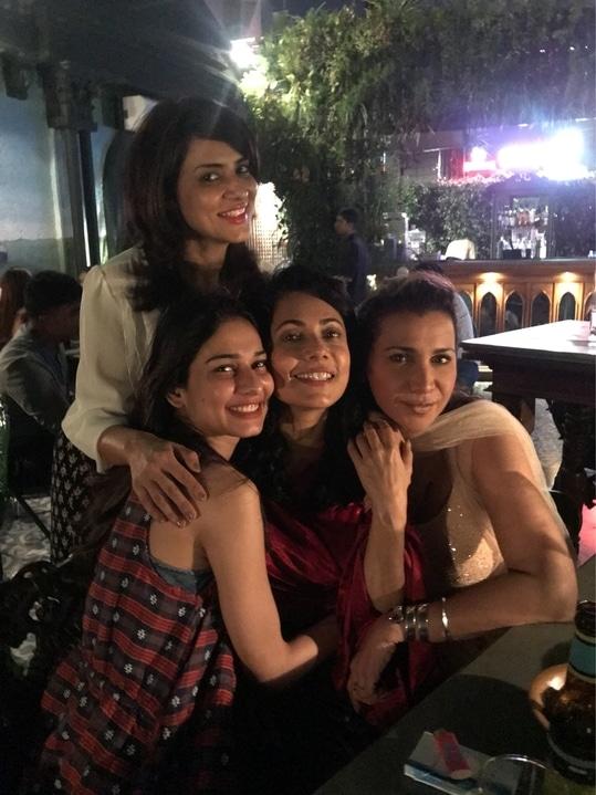 Fun night on my friend Tuhina Vohra's birthday 💃