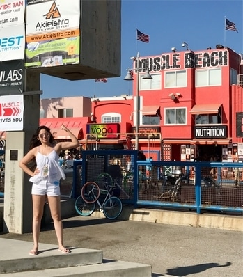 @ The Muscle Beach- Santa Monica 🇺🇸 The-Most-Iconic-Gym in the World 😍 The birthplace of the physical fitness boom in the US ! . #musclebeach #venicebeach #santamonica #musclebeachvenice #arnoldschwarzenegger #losangeles #california #movies #passion #travelblogger #usa #hollywood #tourism #luxury #traveldiaries #charmingcharlie #moviebusiness #ExtraOrdinaryExplorer #travelandliving #artist #globetrotter #actress #mumbai #northamerica #america #bollywoodactress #avantikakhattri #travelphotography 🌍 #adventure