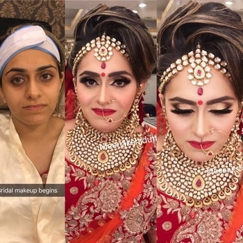 Bridal makeup #meenakshidutt #meenakshiduttmakeoversdelhi #bridalmakeupartist #indianbridalmakeup #makeupartistdelhi #makeupartistindia #makeupartistdelhi #weddingmakeup #makeup, bridal