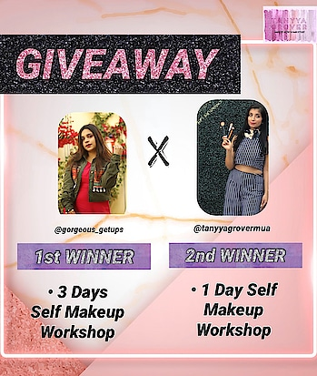 #GIVEAWAY TIME 💕