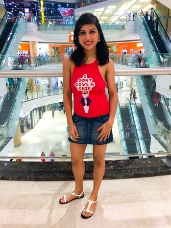 Casual summer wear  Halter top - Ginger Denim skirt @ucb  Footwear - Charles&Keith . #urban #urbanstylewear #halter #halterneck #haltertop #denim #denim-love #denimlove #denimskirt #women #women-fashion #fashion #fashionblog #fashionblogger #summer #summers #summer-style #summer-looks #hot #red-hot #hotness #trendyfashion #trendy #sexylook #sexy #hotgirl #hotlook #roposo #soroposofashion #roposofashionblogger #like #followme #follow
