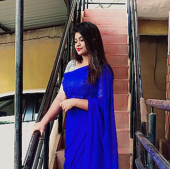 Updated their profile picture #telugu-roposo #rops-star #stardominabox #telugu-roposo #saree-in-new #saree #saree-in-france #stylish saree #beautifying-saree