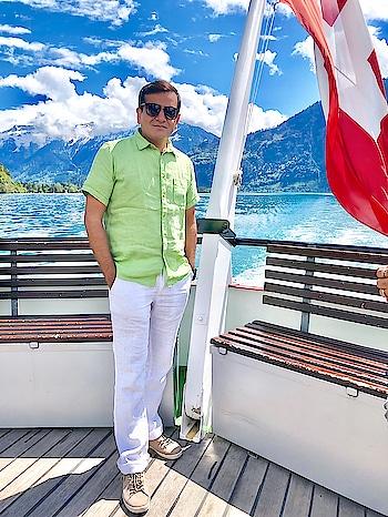 #summer #swiss #interlaken #cruise