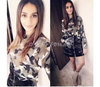 Giving #StreeStyle a go #shibanidandekar in #hm camo 👚and PVC #isabelmarant with #rickowensonline 👢#ToastOrRoast has details you'll will want to look into. Click the 🔗on 🔝  #bollywood #bollywoodactor #bollywoodmovie #bollywoodfashion #bollywoodactress #vogue #toastorroast #toastedcouture #edgy  #stylisit #style #celebritystyle #celebritylook #celebrityfashion #swag #luxurylife #fashion #fashiongram #fashionicon #bestdressed #fashionaddict #fashionstyle #fashiondiaries #fashiongram #fashionforward #womensweardaily #classyandfashionable #fashionstatment #stylewatch  #fashionforward #beclassy #fashionpost #partywear