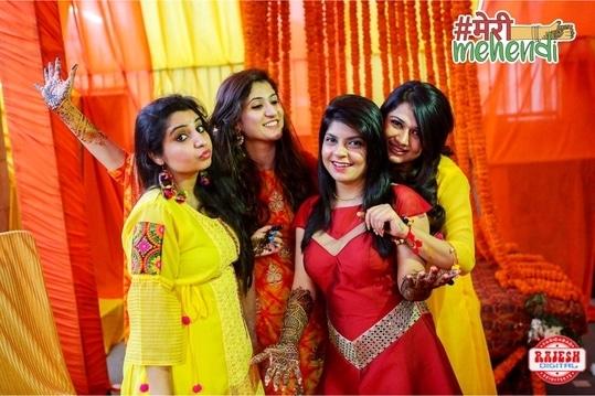 Bride Squad 💕 #merimehendi