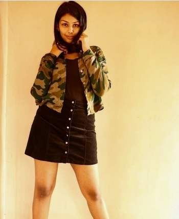 Camouflage prints are love ❤️  #fashionblogger #punefashionblogger #fashionblog #lifestyleblog #theclosetshow #styling #streetstyle #travel #clothing #indianfashionblogger #camouflage #bloggeracademy #blackskirts #forever21 #assignment4 #trends2017