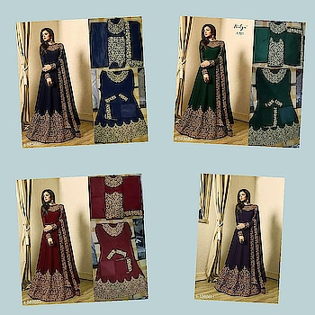 Check bio and dm me for shopping _Don't just stay average, stand-out amidst all by wearing these Fashionable Embroidered Suits. Stay timelessly beautiful!_  Catalog Name: *Samaira Georgette Salwar Suits & Dress Materials Vol 1*  *TOP* :  Georgette  + Embroidered ( 3 Mtr)  *BOTTOM* : Georgette + Solid (3 Mtr)   *DUPATTA* : Georgette + Embroidered (2.20 Mtr)   *TYPE* :  Un Stitched  *COLOUR* : Multi Colour   *CONTAINS* : 1 TOP, 1 BOTTOM & 1 DUPATTA    Dispatch: 2 – 3 Days  Designs: 6  Easy Returns Available in Case Of Any Issue #fashion #style #stylish #love # #me #cute #photooftheday #nails #hair #beauty #beautiful #instagood #instafashion #pretty #girly #pink #girl #girls #eyes #model #dress #skirt #shoes #heels #styles #outfit #purse #jewelry #shopping