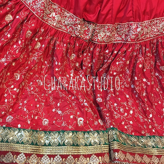 Gharara in red silk with zari zardozi handwork embroidery all over.   🌈WhatsApp at +919971865919 to order 🌈Deliver complete stitched to your size  🌈Deliver Worldwide  #gharara #ghararastudio #ghararastudiobyshazia #redgharara #bridalgharara #bridal #wedding #weddingdress #fashion #fashionstyle #instafashion #fashiongram #fashiondiaries #blog #blogger #fashionblogger #indianfashion #indiandress #traditional #delhi #royal #buyghararaonline #traditionalbride #wedmegood  #weddingphotography #indianwedding #hautecouture #outfit #asianbridalsblog