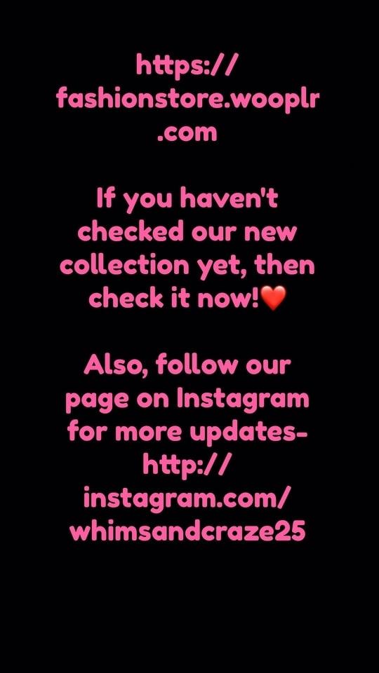 Link in bio too    #fashionstore #whimsandcraze #shop #checkoutnow