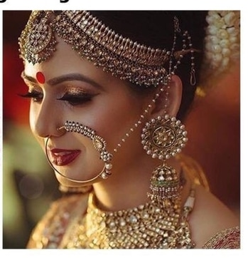 Some inspiration for Would b Brides 😉😻 #bridalmakeup #bridalfashion #bridal-wear #wedding-bride #bridal-lehenga #brideinspiration #bridal-jewellery #fashion-diva #roposostylefiles #roposo-makeupandfashiondiaries