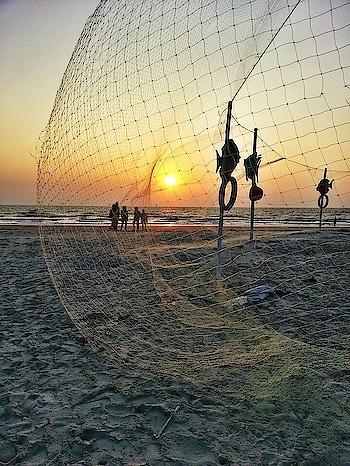 Fishing nets. And of course another beautiful sunset 🌅! #goadiaries #sunsetlover #travelblogger #incredibleindia #landscapephotography #indiantravelblogger #nature_brilliance #twilightscapes #seashore #beachvibes #unexplored #offthebeatenpath #lifestyleblogger #mumbaiblogger #konkan_ig #roposoblogger #roposoblogs #roposotraveldiaries #soroposolove #soroposoblogger #soroposoblog #soroposotalks #ropo-good #ropo-love