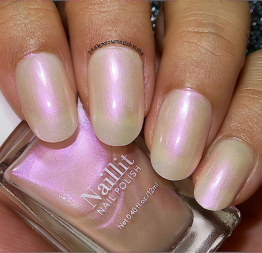 SWATCH:  03 Crystal Veil from @minisosg  Watch my swatch video for this on my YouTube channel: DesignYourNailsByIsha . . https://youtu.be/FNO1sXBAs90 . 💅🏼 Direct link in bio👆 . . . . *This post is not sponsored*  #swatch #nailpolishswatch #nailpolishaddict #purplepolish #minisonailspolish #minisonapan #minisosingapore #minisoindia #minisohaul #minisonailpolishswatch #swatcher #nails #youtuber #nailart #nailartist #indiepolish #indie #review #liveswatch #designyournailsbyisha #ishanailart #nailpolish #latestnailpolish #newnailpolish #2019nails #roposonails #roposofashion #roposoness #soroposo