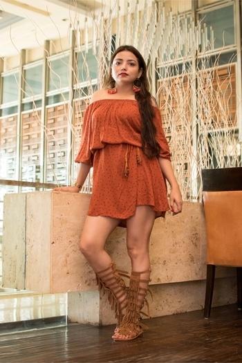 Every day is the start of something beautiful. Good Monring . . . . . . Dress - @modnycloset Earrings - @vogueblissclothing  Sandal - @amazonfashion . . . . . . PC - @brandreel.in . . . . . . .  #blogger #bloggergirl #bloggerlife #blogginglife #bloggerstyle #beautyblogger #blog #blogfashion #blogpost #bloggervibes #styledotme #styleblogger #stylechallenge #styledbyme #beautyblogger #beautyhair  #delhi #delhiblogger #delhidays  #delhidays #roposo #modnycloset #styleetvogue