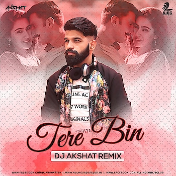 Tere Bin (Simba) Dj Akshat Remix  Releasing soon #bollymusic🎶 #romantic  #melody  #lovemusic  #roposo  #stay_tuned #AKSHAT_MUSIC