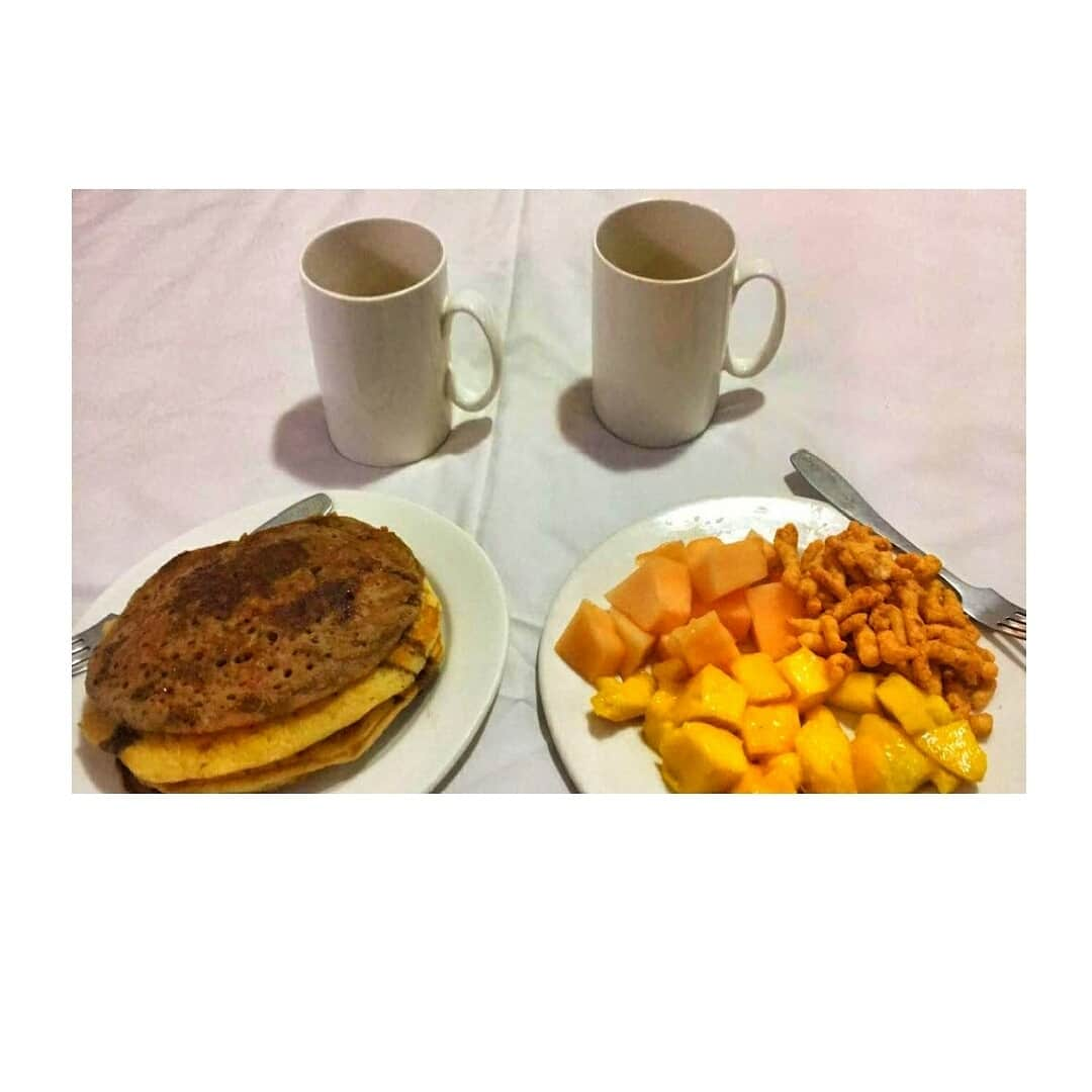 good morning ❤❤ . . . #breakfast #morning #morningpost #pancakes
