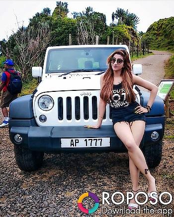 #jeepaddiction #forest #sunglasses #black#shortdress #sexylegs #fashionhacks #model