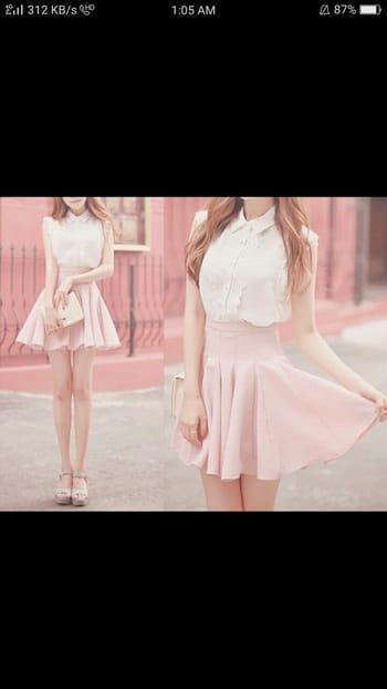 #pink#skirt