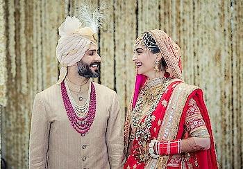 #congratulations #Mr and Mrs_Anandahuja #sonamkishaadi #sonamdiwedding #successfulparty #amazing #perfectcouple #congratulations_#sonamkapoor #beautiful-life