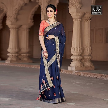 Buy Now @ http://bit.ly/VJV-SUNH9112  Stylish Blue Color Viscose Designer Embroider Saree  Fabric- Viscose  Product No 👉 VJV-SUNH9112  @ www.vjvfashions.com  #saree #sarees #indianwear #indianwedding #fashion #fashions #trends #cultures #india #instagood #weddingwear #designer #ethnics #clothes #glamorous #indian #beautifulsaree #beautiful #lehengasaree #lehenga #indiansaree #vjvfashions #pretty #celebrity #bridal #sari #style #stylish #bollywood #lehengasaree