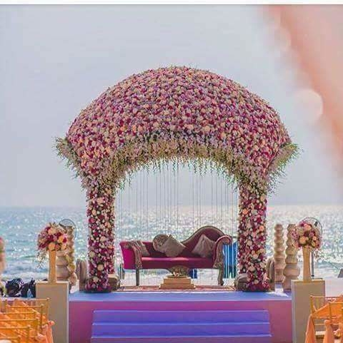 I want this kind of mandap for wedding
