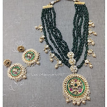 Dm or whatsapp 7503577614 to order.  #jewellery #jewellerylove #canada #punjabiwedding #sardari #vancouver #dress #suits #patiala #beautiful #makeup #hudabeauty #_jaipuri_jewels #brands #ethnic #accessories #jewels #britishcolombia #dubai #europe #motivation #style #luxury #fashion #likes #likes4likes #follow #followuo