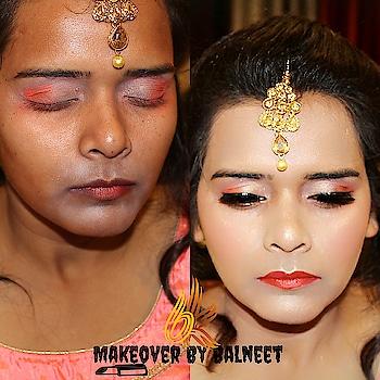 glam makeover❤💄 perfect look for party💖 Book urs now👇💫❣ -------------------------------- Makeup & hair -balneet kaur @thatgirlinstyle -------------------------------- For bookings - 💌DM me💌 #makeup #mua #followformake #makeuplife #glamglow #makeupporn #makeupartist #makeupfun #makeoverbybalneet #makeupgoals #eyeshadowblending #amazingtransformation #morphepallete #hudabeauty #beautiful