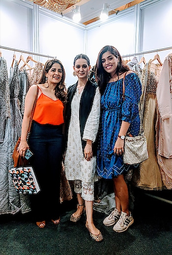 So glad to have met #teamdipublicrelations at #StudioNityaBajaj @lakmefashionwk  @dipublicrelations  Seen here with our Designer @nitya_bbirla Also taking this opportunity to wish the lovely @divyaisrani a very Happy Birthday Thank you for your encouragement at the #lakmefashionweek2018 #MeshbyNityaBajaj #labelnityabajaj #Nityabajaj