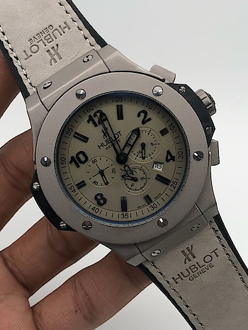 Hublot watches  # Chrono working  # 1st copy  # 7A quality  # Working Chronograph with Heavy Quality Machinery  # with brand box   For price or to order please Inbox Call or whatsapp  WhatsApp.7307350695  Call.9876019929  Visit us at  http://jjcollections.weebly.com  Code. 99279318549pt #1stcopywatches #hublotwatchesformen