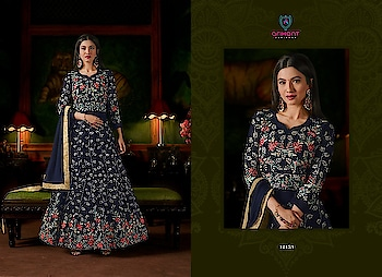 ARIHANT* Designer🔺AD™ New collection new designs with celebrity GouHar Khan Ramzan Spical Test New  celebrations with Supar hit  🔱Sashi Series 🔱 Catalogue Name:- Sashi Vol-18(8 Pcs) Heavy embroidery work and Handwork D.No.12153 To 12156 👗Top= Apple Jorjat With Handwork 👖Bottom&Inner- Dull Santoon Dupatta -Heavy Nazmin D.No.12157 To 12160 Top:- Soft Tapeta Silk With HandWork Inner:Royal Crape  Bottom:-Hevy Dull Santoon  Duppta:-Hevy Nazmin Rate--2400-+Shipping Cost Extra  Singles & Multiples Availabl 2 Design 8 Color  ⏰Disptching On: 25/05/18 .WhatsApp   on +918097775536 Checkout more latest collection at ArtistryC.in  #wedding2018  #shoponline