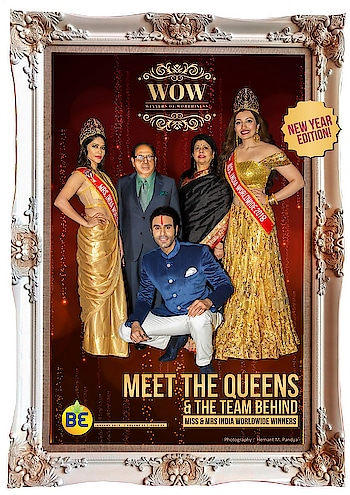 Humbled to start my New year by being on the cover of... WOW Magazine January issue... by BE reality...  ON the COVER with me are the newly crowned winners  Of Miss & Mrs India Worldwide.. Miss Shree Saini and Mrs Mandeep Sandhu along with the Owner and Directors Of the contest Mr Dharmatma Saran and Mrs Neelam Saran...  Thk u Hemant Pandya ji for the beautiful pics and most importantly a bigggg thank u to editor of WOW magazine Shobhaa Arya Maam for this wonderful new year gift.. #magazine #magazinecover #launch #coverlaunch #wow #wowmagazine #choreographer #missindiaworldwide #beautycontest #winners #pageant #choreography #crown #queen #dancer #sandipsoparrkar #roposonews #roposofeed #roposomen
