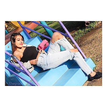 #ropo-fashion #roposo-styles #be-fashionable #thegroovybug #summer-style #denimjacket #denimondenim