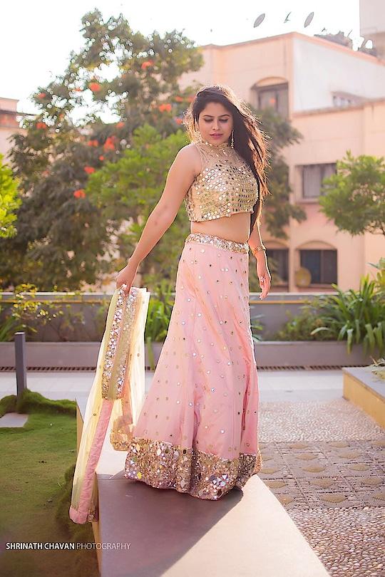 Beauty is the adjustment of all parts proportionately so that one cannot add or subtract or change without impairing the harmony of the whole... . . Wearing this beautiful lahenga by: @rentanattire (http://www.rentanattire.com) . . #thebnbmag @thebnbmag  #bloggerlife #indianblogger #fashionblogger #ethnic #elegance #puneblogger #portrait #shoot #makepunefashionable #instastyle #instablogger #plixxoinfluencer #wooplrinfluencer #popxofashion #msflawesomequeen #roposo-style #bloggerdiaries #ropo-style #stylingideas #ethnicwear #ropo-love    @rentanattire