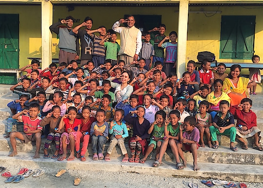 """If I upload thousands of pictures still would be less .. because These kids are so cute and innocent.. I will always pray for these children God will keep them safe and happy """"Bodoland Children's Home"""" (NGO) .. And yes Thank you 🙏🏻 Aabow Jebra Ram Muchahary for sharing this beautiful memories with us..i am glad and I am blessed to have this opportunity to help the children .. thanks to """"PSA Dance Camp - 2018"""" .. also My @TeamPRONEETA and  And even those people who have helped us behind this program for this #PSAbiggestdancamp . . . https://www.facebook.com/proneetaswargiary/posts/1466940800070794 ⬆️ Check this Post.."""