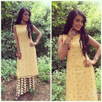 #shootmode #actorslife #lookoftheday #indianattire #jewellery #itsmebeyou ❤️@star bharat #saamdaamdandbhed #montofri 9pm#stay #tuned