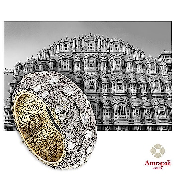 Channel the splendour of India's deep culture and history with Amrapali Jewels;  Victorian diamond bangle embedded with uncut diamonds   #AmrapaliJewels #Jewelry #Amrapali #victorian #bangle #diamonds #jewels #jewellery #india #culture #heritage #diamond #luxury #luxurylifestyle #havishaaglobal #tanveeykapur  Stay in Tune with Luxury at Havishaa Global  Follow us on Instagram & Facebook