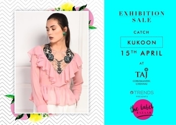 Give your wardrobe a twist by shopping from kukoon at Reliance Trends presents The Lable Bazaar on 15th of April in Chennai  at Taj Coromandel. #thelabelbazaar #tlbseason3 #teamtlb #tlb #style #sale #shopping #fashion #fashionx3 #exhibition #registernow #registrationsopen #chennai