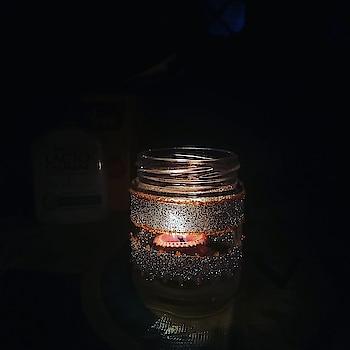 Do it yourself!!  #DIY #candlejar #craft #art #candlelight #candles #roposoblogger #instablogger