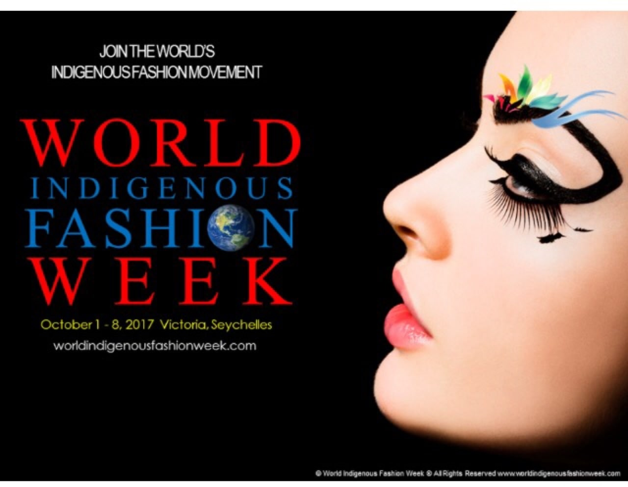 Biggest Indigenous fashion show on the World platform.Designers want to be  seen by 2+ BILLION viewers ?Please apply to www.worldindigenousfashionweek.com... Deadline April end.