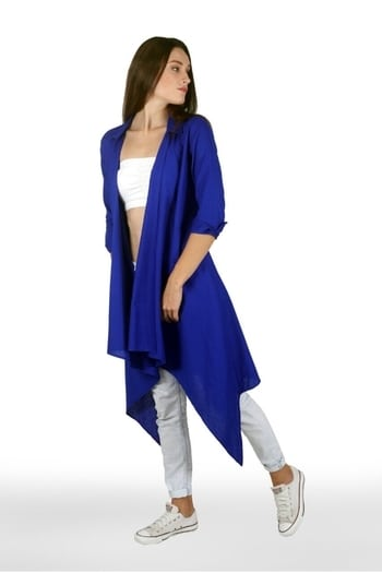 #ffdesignerhunt #fashionfable2 #cascade #westernwear #denim #swirlingdervish #embroideredback #roposodesignbox